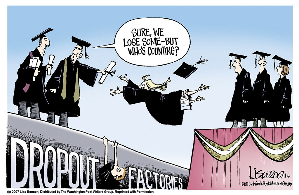 Economics 101 >> Why Students Drop Out Of College | In the Arena