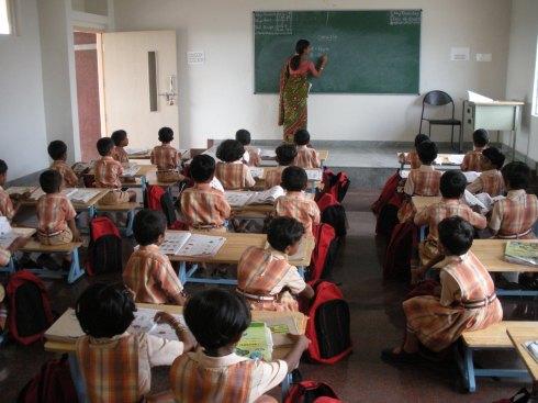 Classroom - India
